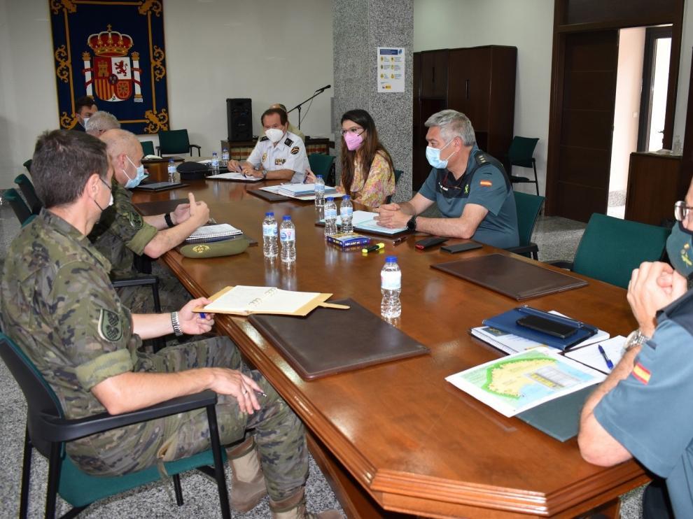 Reunión del Centro de Coordinación en Melilla