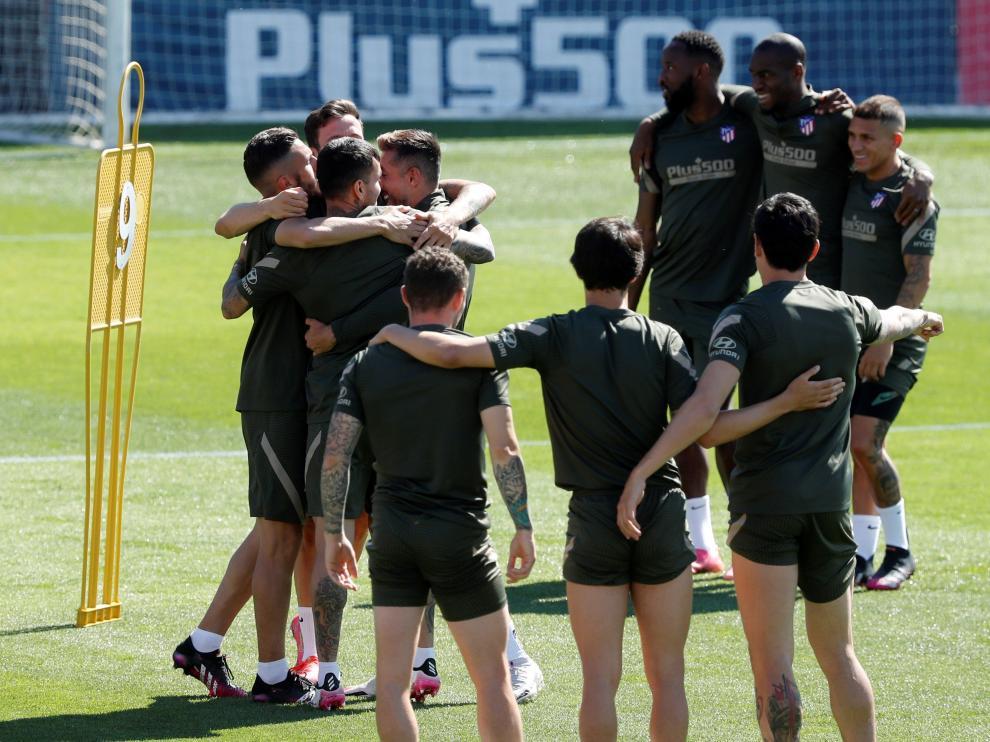 El Atlético de Madrid depende de sí mismo para ganar la Liga