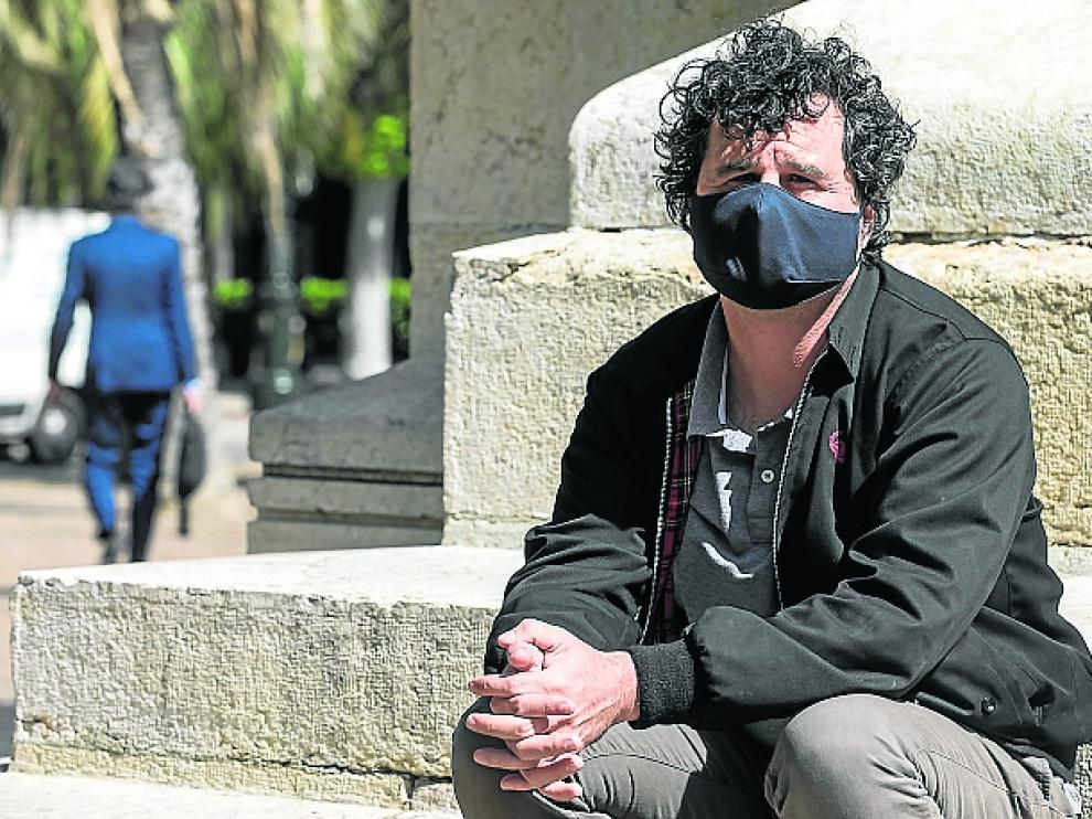 Sebastián Lahuerta, ingeniero, padece covid persistente.