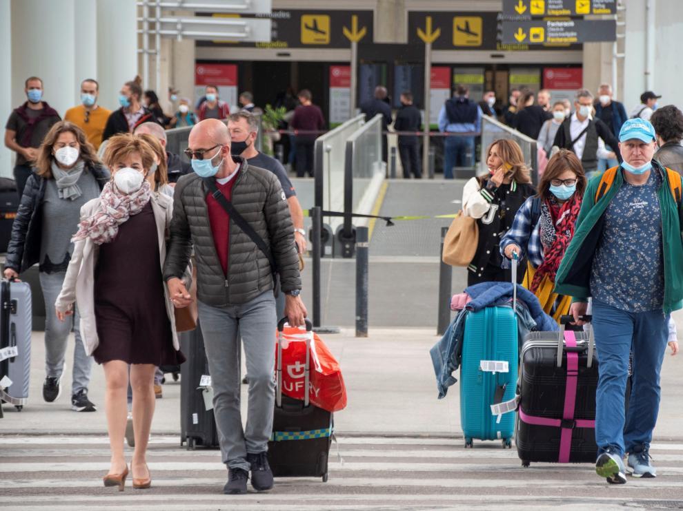 Aumentan los vuelos en el aeropuerto de Palma de Mallorca