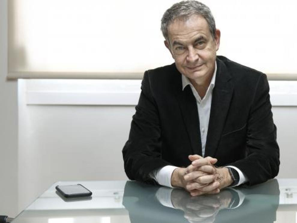 Conversación con el expresidente del Gobierno, José Luis Rodríguez Zapatero.