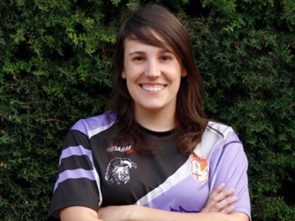 Sandra Salamero, la joven barbastrense de 33 años que falleció el sábado haciendo barranquismo en Torla, era miembro del equipo sénior femenino del Quebrantahuesos Rugby.