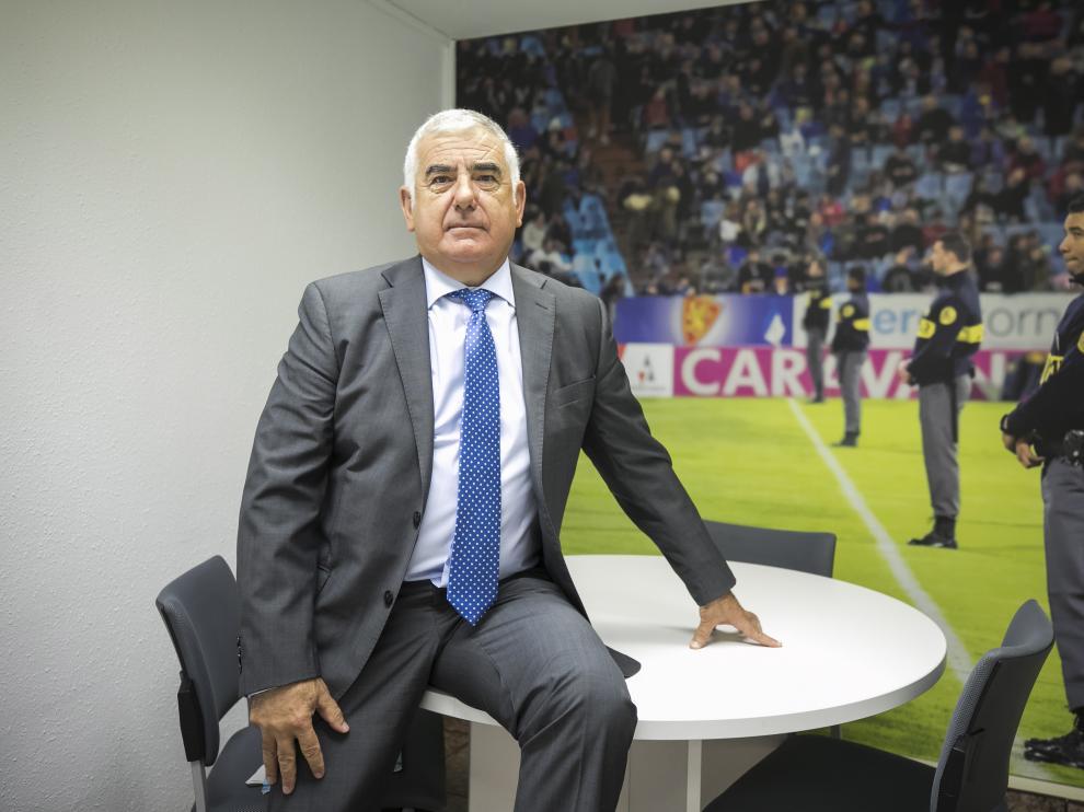 Javier Grasa, director general de la compañía aragonesa de seguridad privada Coviar.