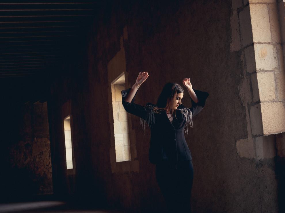 La cantante zaragozana Elem