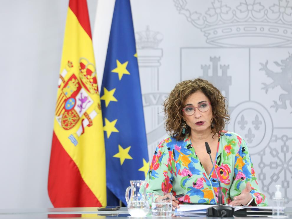 La ministra portavoz del Gobierno, María Jesús Montero