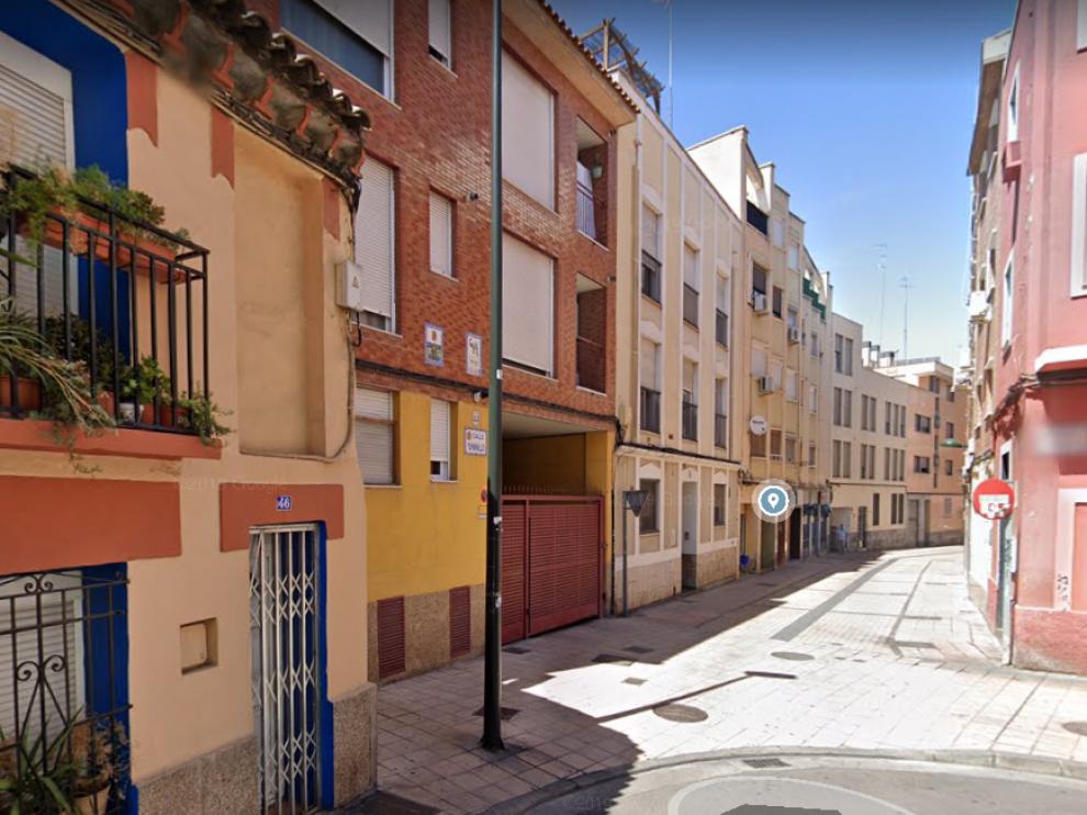 calle de Terminillo en las Delicias