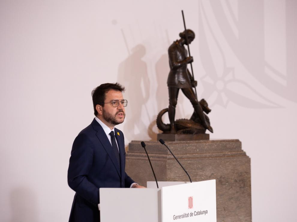 Pere Aragonès, este miércoles