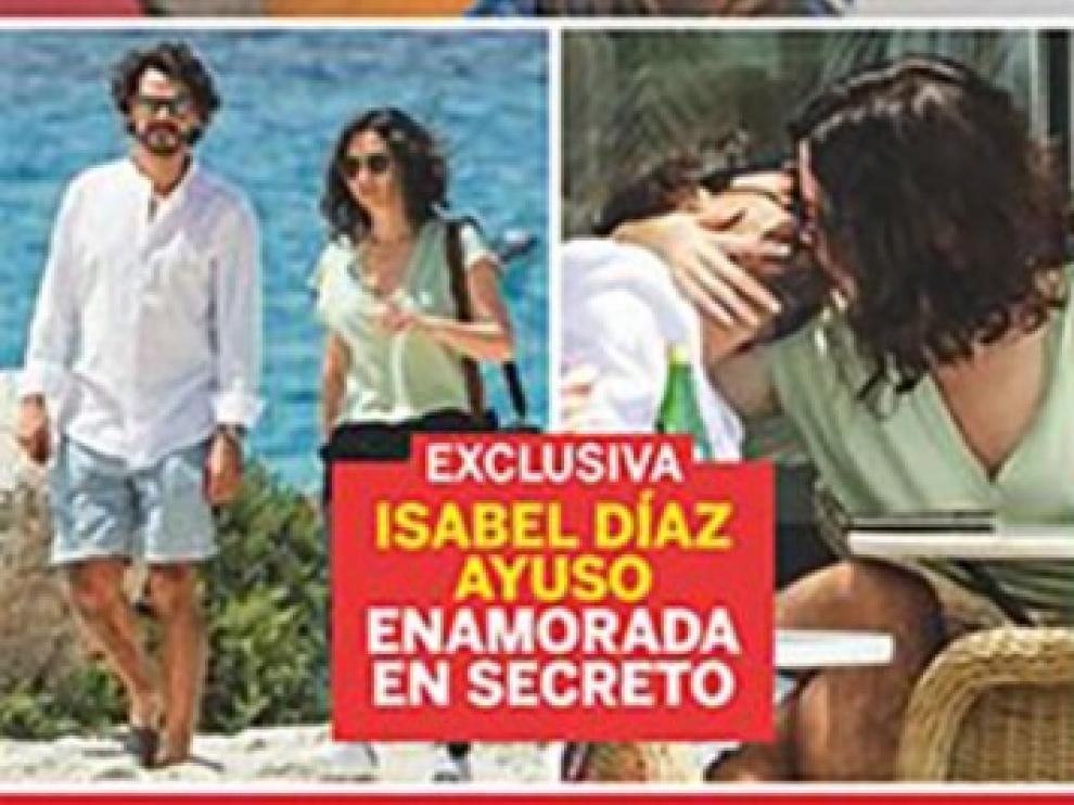 Portada de 'Lecturas' con Díaz Ayuso y su pareja en Ibiza