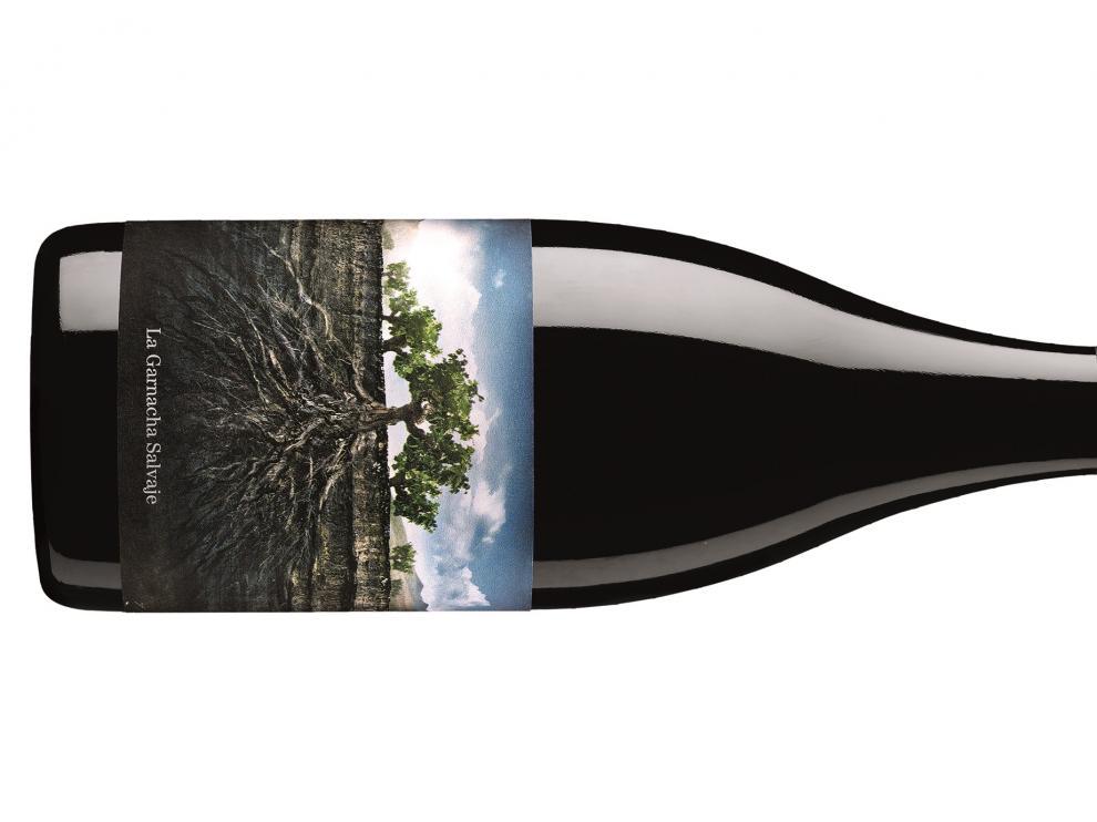 Botella de La Garnacha Salvaje.