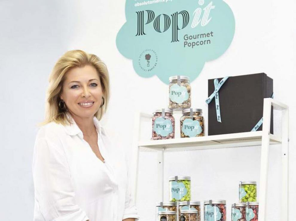 Sonia Pueyo, fundadora de Palomitas Popit