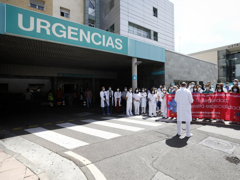 Movilizaciones para exigir la especialidad de urgencias