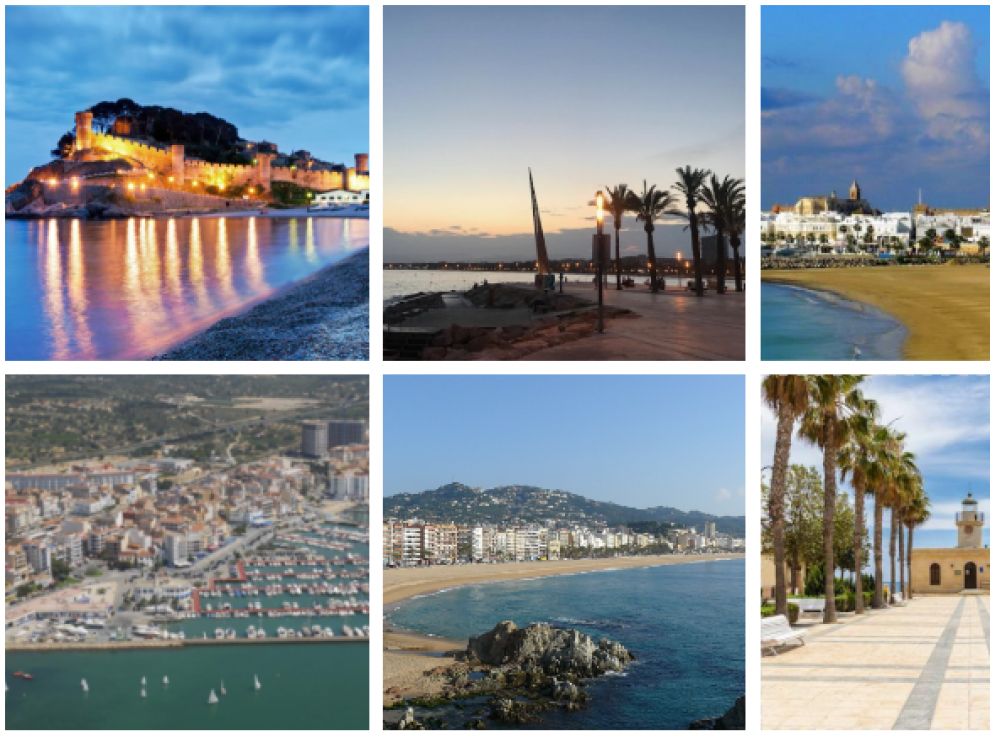 Algunos de los lugares preferidos por los españoles para este verano