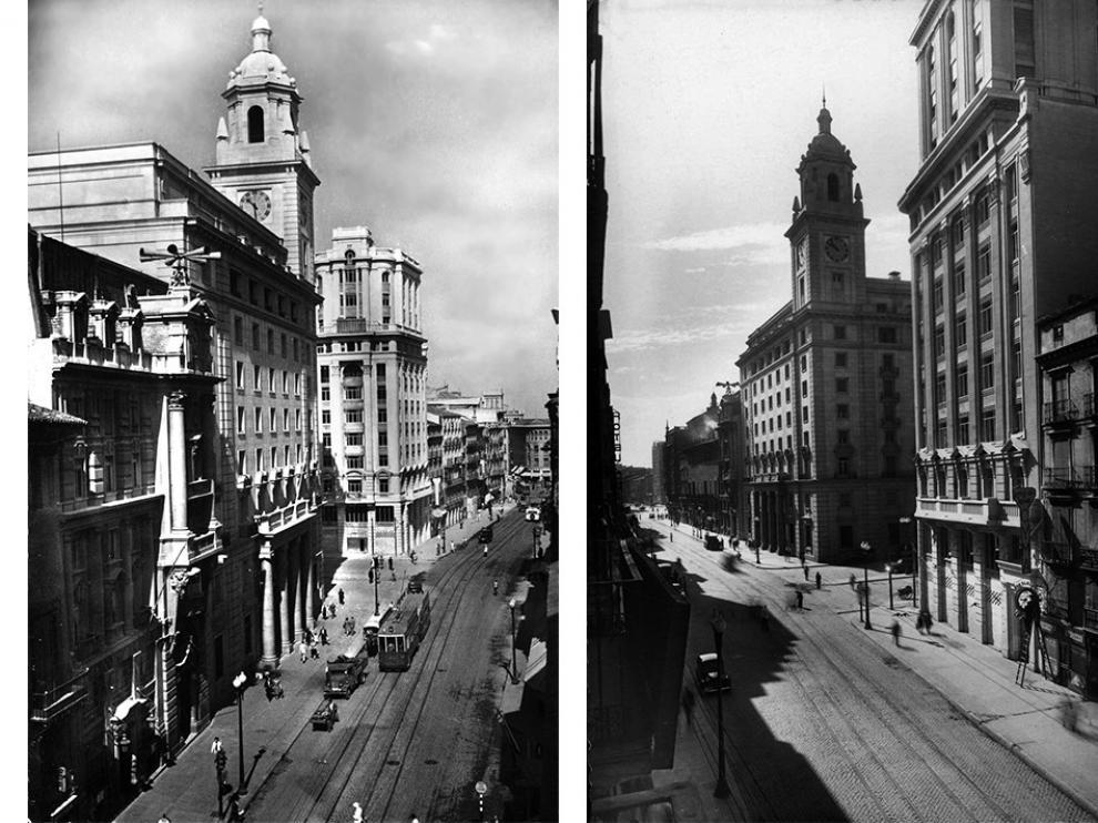 El Coso de Zaragoza en los años 50
