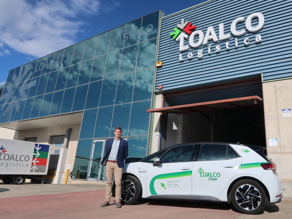 Alberto Blanco, director de Operaciones de Grupo Loalco, en la sede de la empresa.