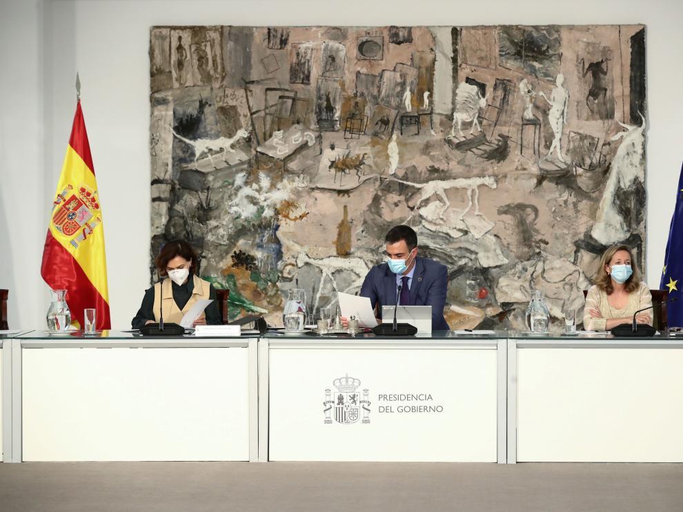 Reunión extraordinaria del Consejo de Ministros