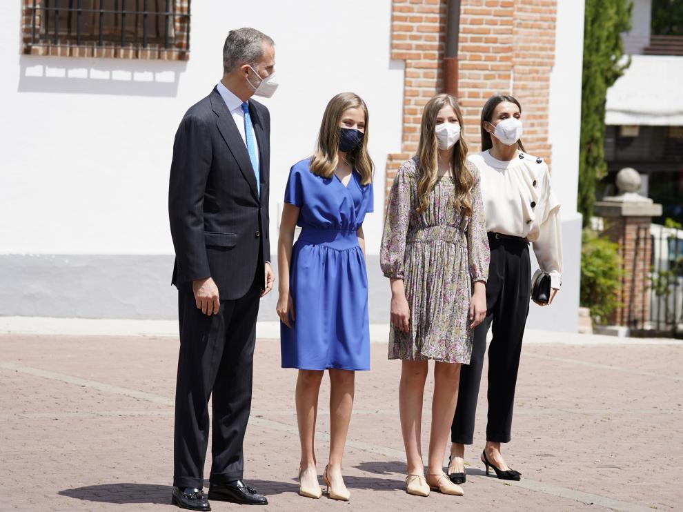 Confirmación de la Princesa de Asturias