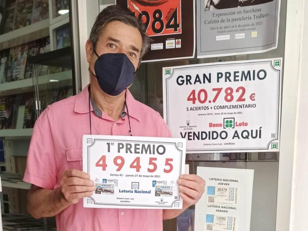 El lotero de Los Monegros.
