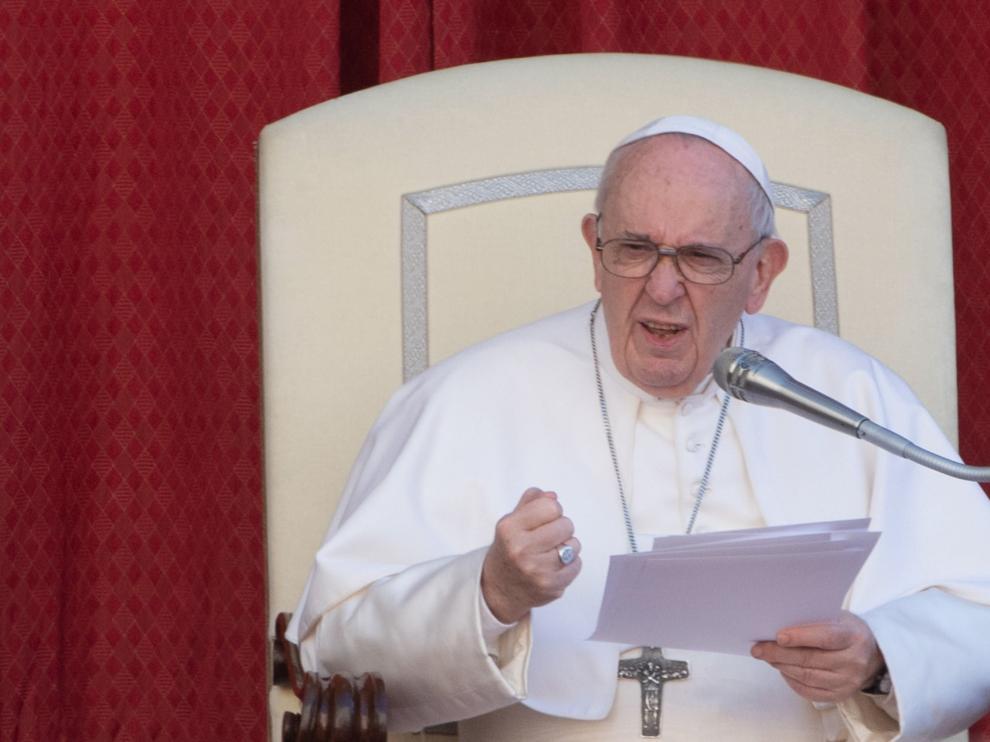 El papa Francisco en una audiencia en el Vaticano.