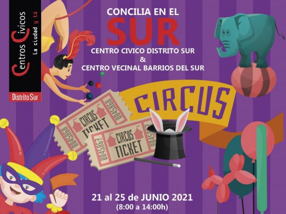 Una imagen del programa de conciliación familiar 'Circus'.