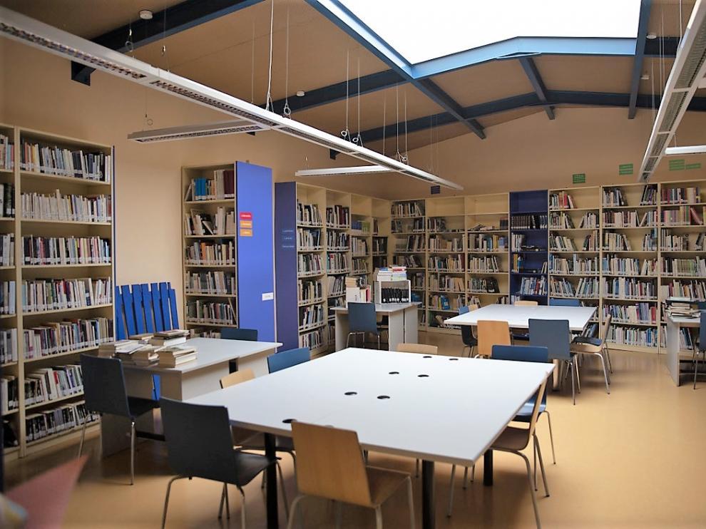 Biblioteca de Sariñena.