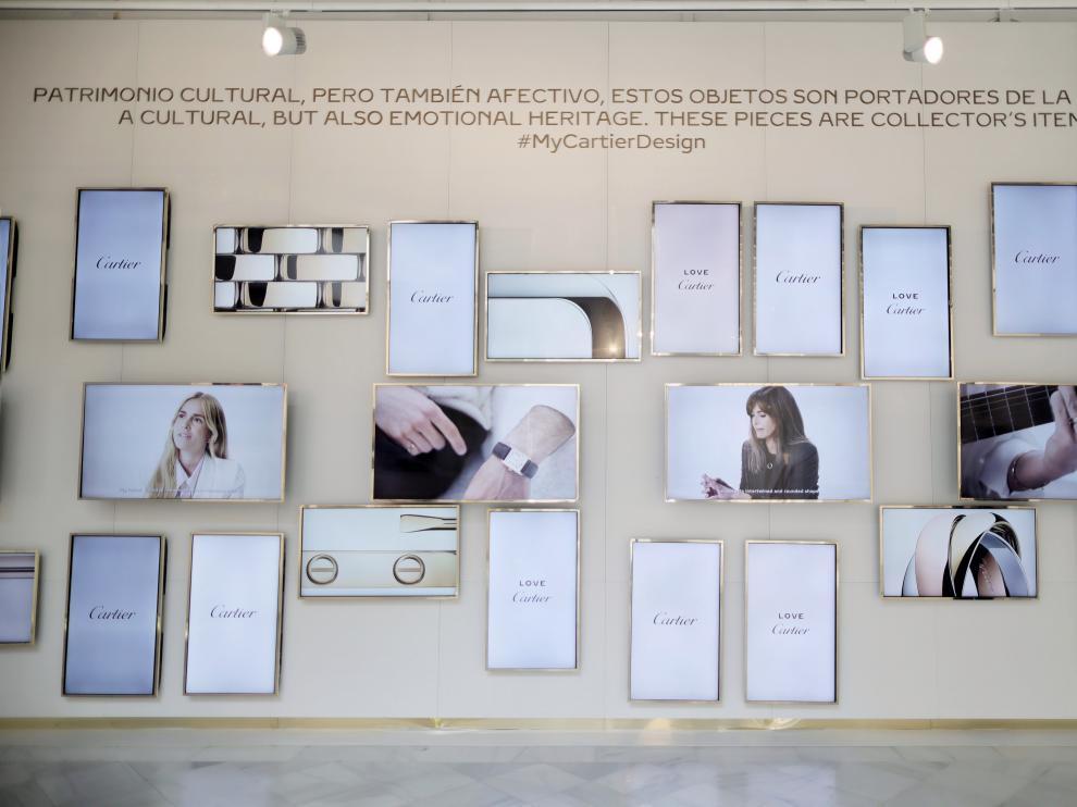 Varias de las obras de la muestra Pavilion of Design en el Centro Cultural Casa de Vacas de Madrid.