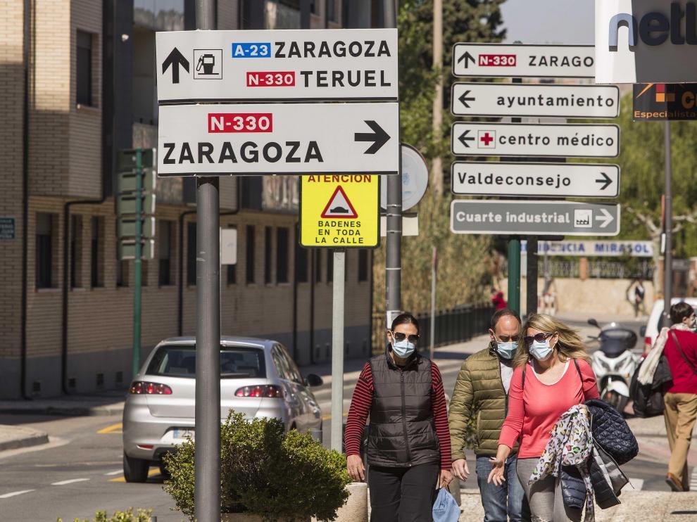 Cuarte de Huerva es el municipio que más ha crecido de la comarca central