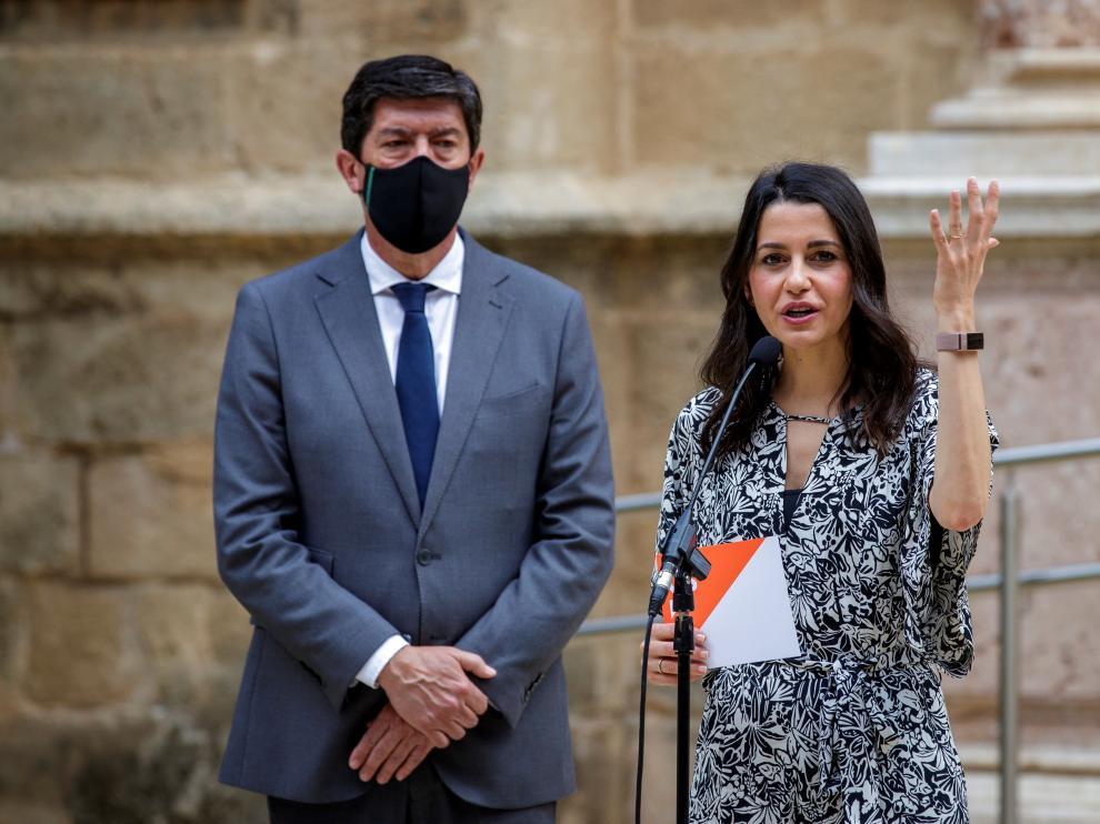 Arrimadas: Sánchez legitima al separatismo para mantenerse en el poder