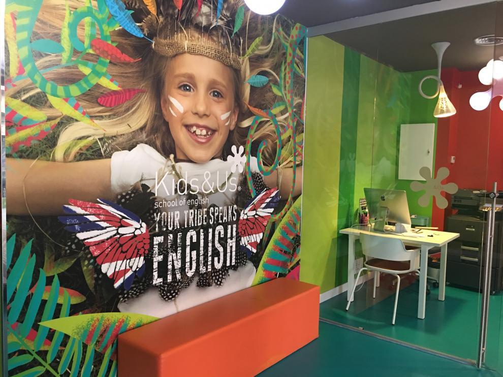 Kids&Us enseña inglés a niños y adolescentes entre uno y 18 años.
