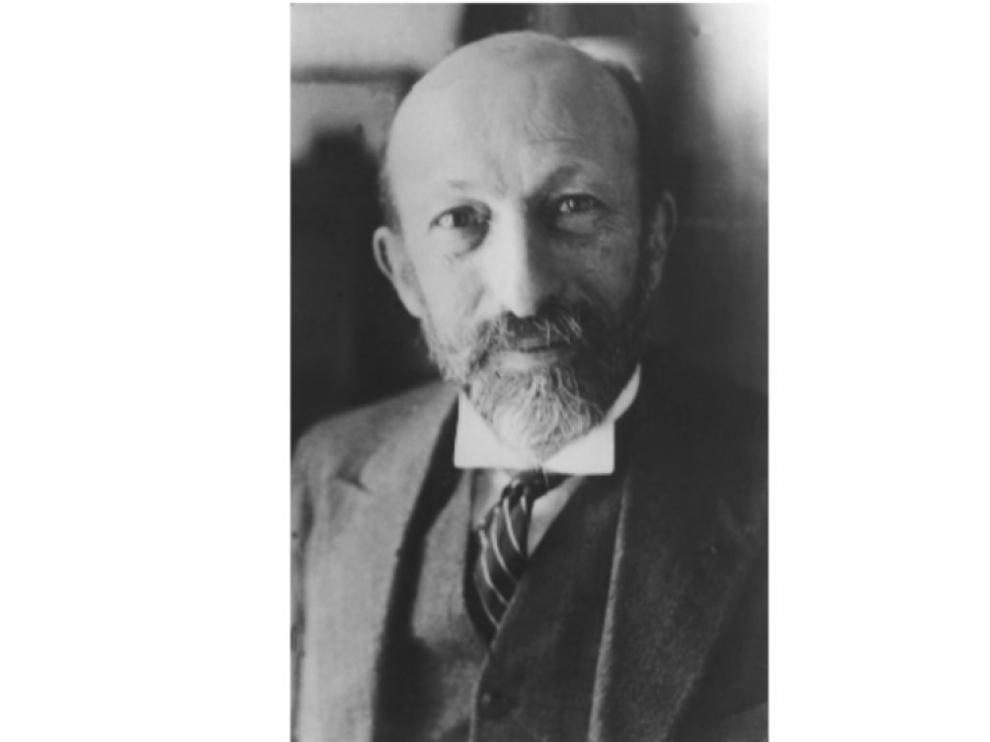 El matemático francés Jacques Hadamard, en una imagen tomada hacia 1935.