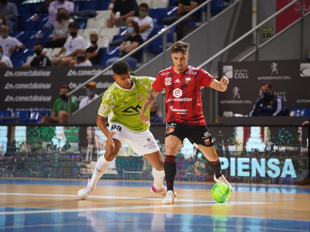 Foto del partido de cuartos del 'play off' al título Palma Futsal-Fútbol Emotion Zaragoza