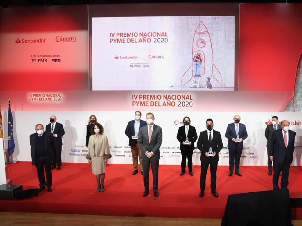 Ganadores del Premio Pyme del Año 2020.