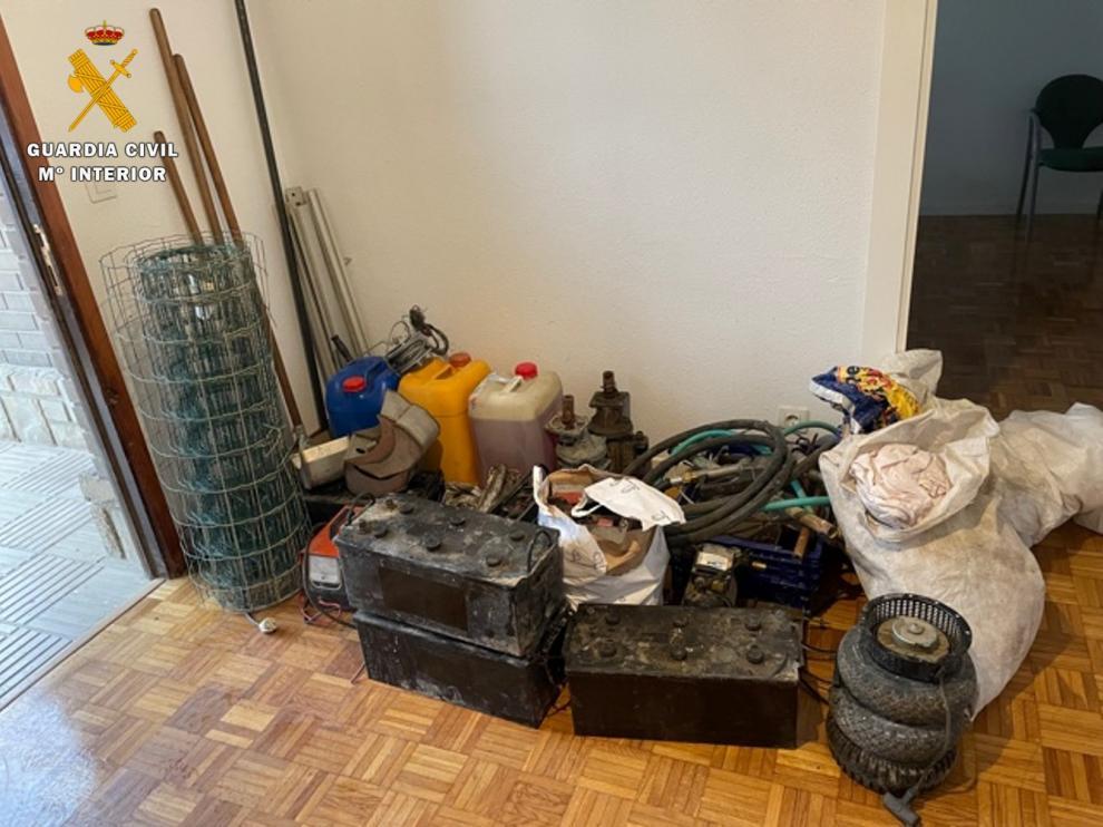 Objetos robados recuperados