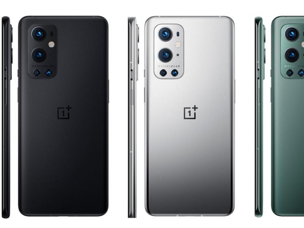 El Oneplus 9 Pro está disponible en tres colores