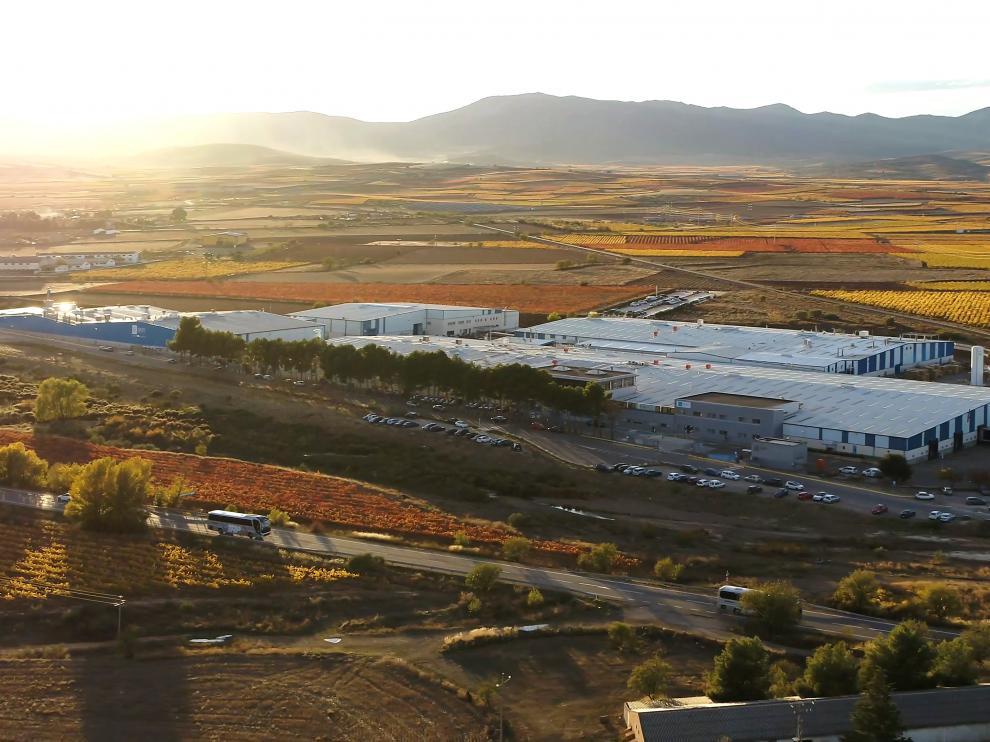 Vista general de las instalaciones de HYM Yudigar, empresa que ha sido premiada por sus labores de mejora del medio ambiente urbano.