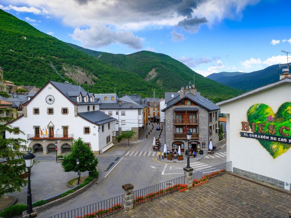 Biescas, corazón de los Pirineos