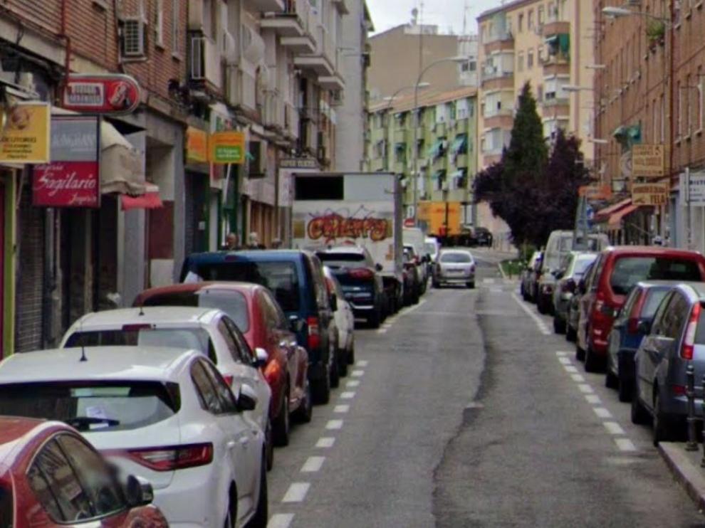 Calle de Julio Antonio, en Valencia.