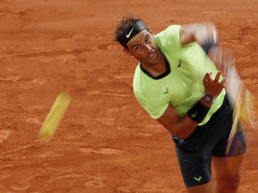 Nadal, en Roland Garros, contra Gasquet.