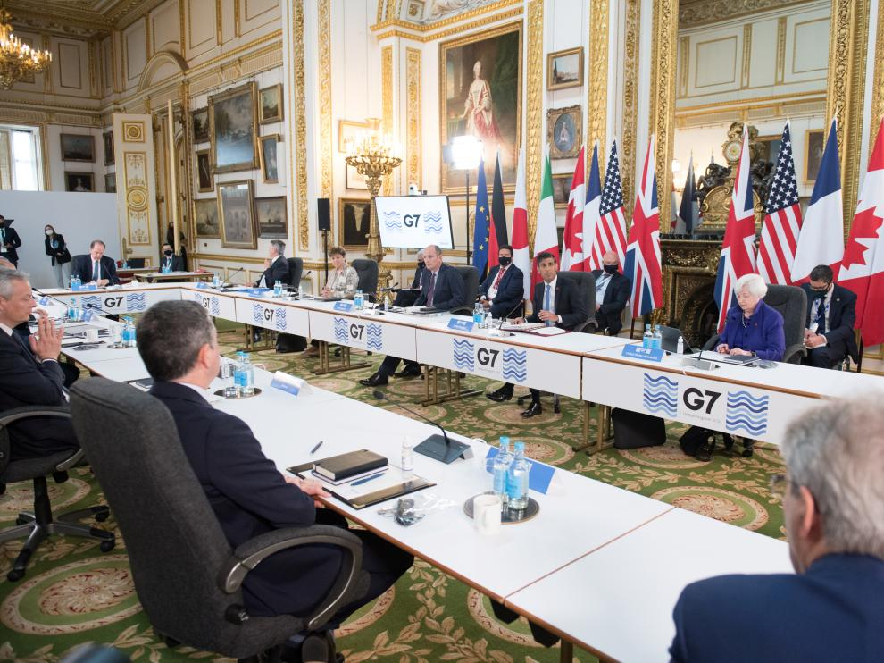 Reunión de los ministros de finanzas del G7