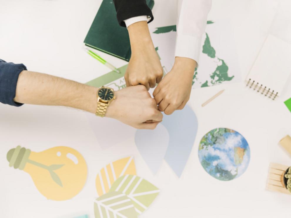 Una gran mayoría de empresas cuenta con políticas para la gestión medioambiental de su actividad. freepik