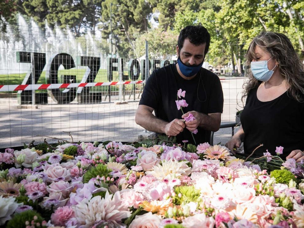 ZGZ Florece en el Parque Grande de Zaragoza.