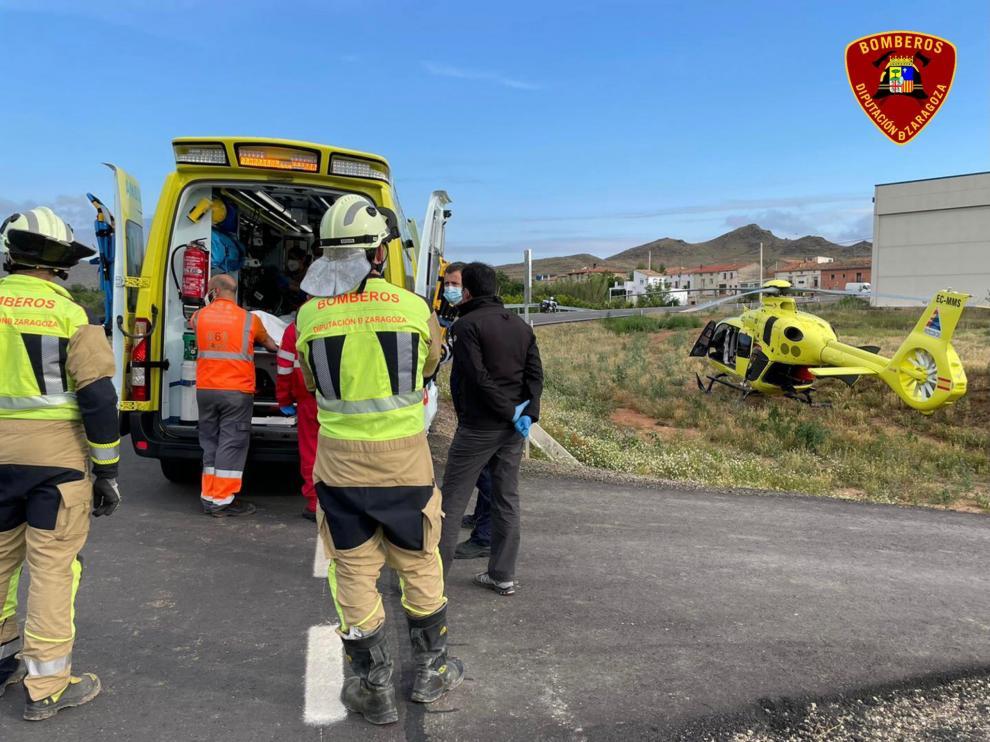 El accidente se ha producido a las 7.00.