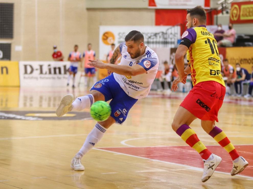 El Fútbol Emotion Zaragoza se impone al Palma Futsal (3-2)