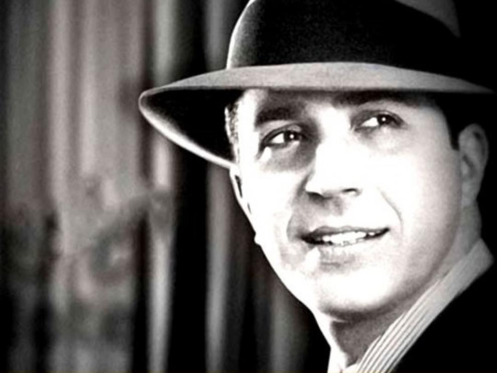 Carlos Gardel estuvo en Zaragoza en 1928, según un libro recién publicado.
