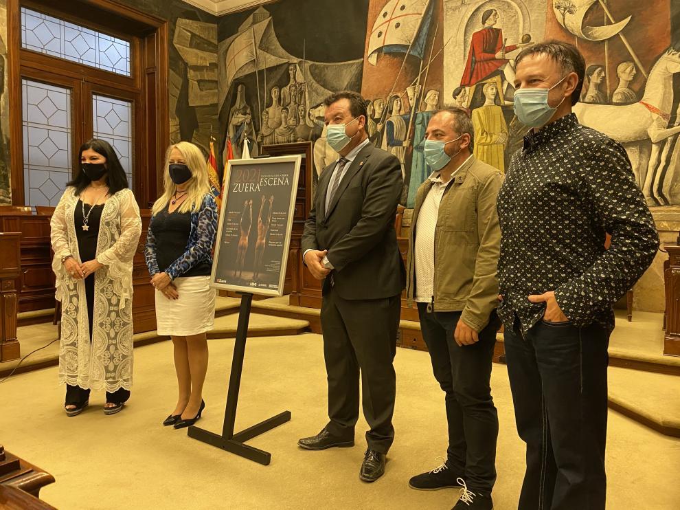 Imagen de la presentación de 'Zuera Escena' en la DPZ.