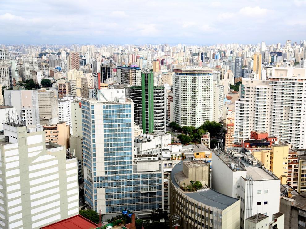 Rascacielos en Sao Paulo