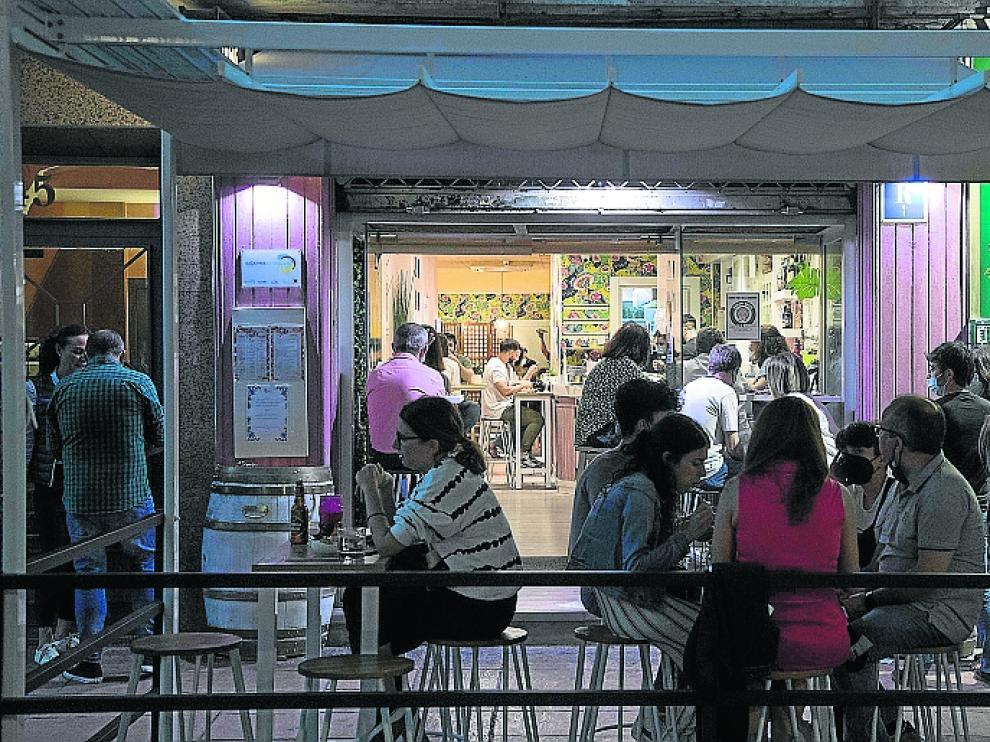 Los clientes pudieron alargar sus cenas gracias a la ampliación de horarios