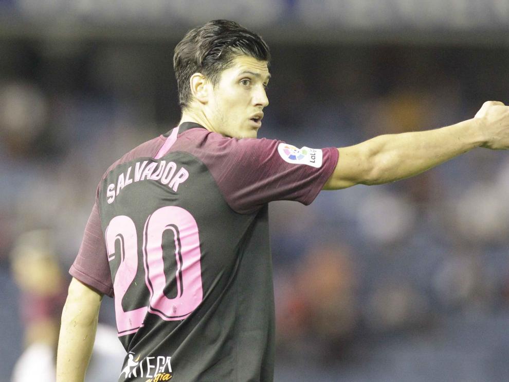 Cristian Salvador, el nuevo futbolista de la SD Huesca.
