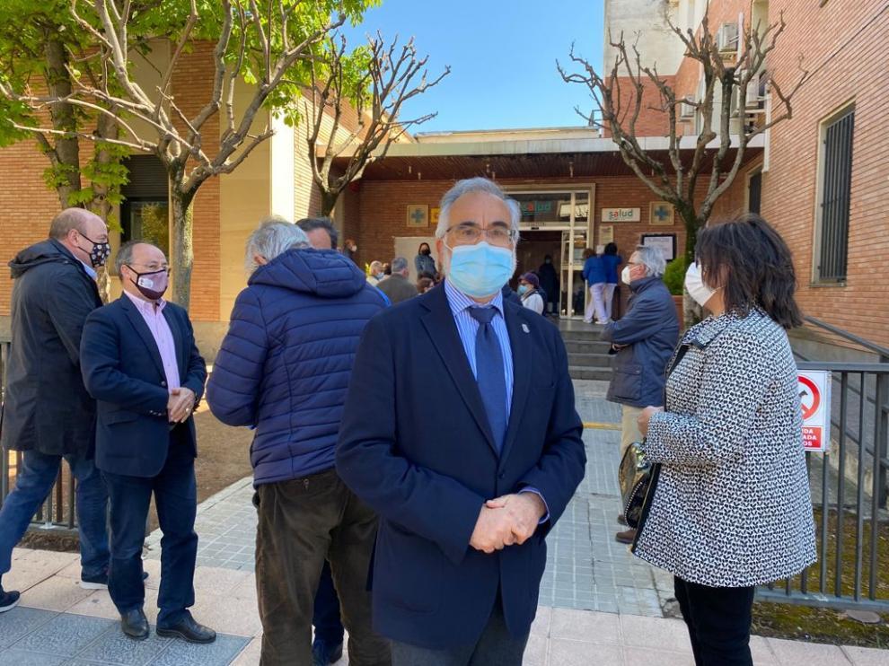 El Lugarteniente del Justicia de Aragón, en su visita al centro