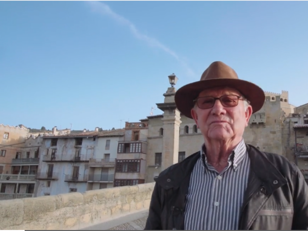 Una imagen del vídeo presentado por Valderrobres al concurso de Eurona.