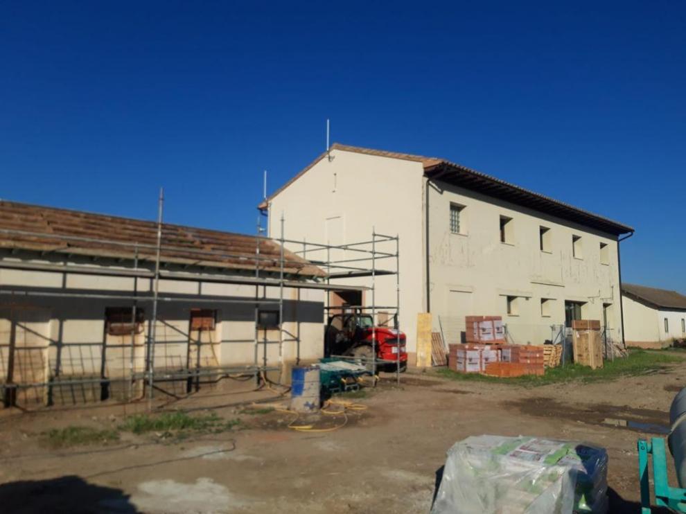 Trabajos de adecuación en los edificios del Vivero para convertirlo en el centro de coordinación del Speis.